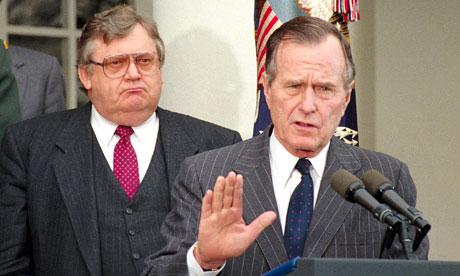Lawrence Eagleburger, George H. Bush