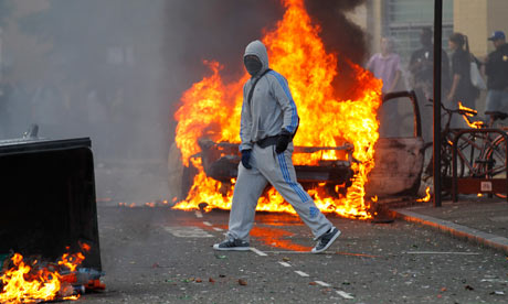 London Riots and Violence Dramatic pictures