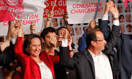 Ségolène Royal and François Hollande