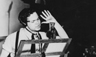 Orson Welles broadcasts War of the Worlds