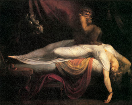 10 best scary paintings: Henry Fuseli: The Nightmare