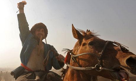 Afghan horseman