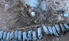 Suspected cluster bomb attack by regime condemned by rights groups