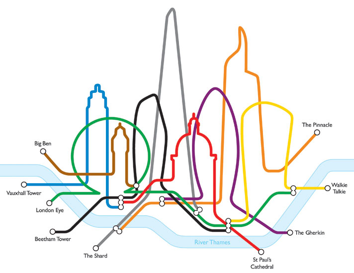 Line Drawing Tattoos London : How a high rise craze is ruining london s skyline art