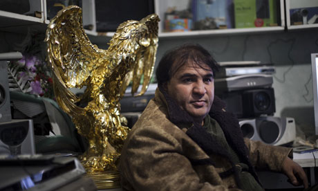 Afghan film-maker Salim Shaheen