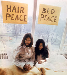 John and Yoko's Bed-In in Amsterdam, March 1969