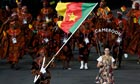 Cameroon at the Olympic opening ceremony