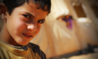 Mohamed, 11, from Deraa, arrived at the Za'atari camp