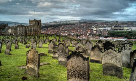 St Mary's churchyard, Whitby, North Yorkshire, UK