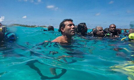Mohamed Nasheed, former Maldives president