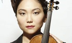 Min-Jin Kym with her Stradivarius violin