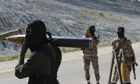 Free Syrian Army fighters in Latakia province