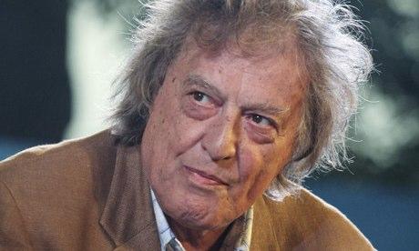 British playwright Tom Stoppard