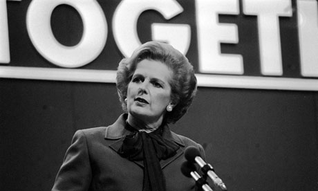 Margaret Thatcher in 1980