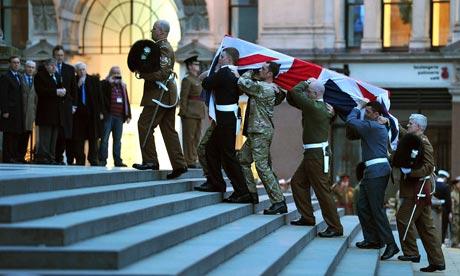 Margaret Thatcher funeral rehearsal