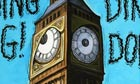 Steve Bell on the silencing of Big Ben for Thatcher's funeral