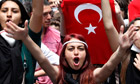 Turkish protesters