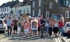 Dunblane residents celebrate Andy Murray winning Wimbledon