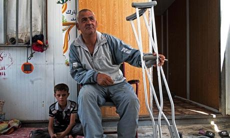 Abu Assam, un miembro del Ejército Libre Sirio