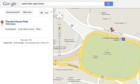 Google apologises over reviving Adolf-Hitler-Platz in Berlin