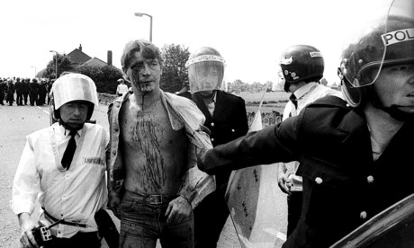 Miner's strike at Orgreave