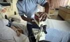 NHS hospital general ward