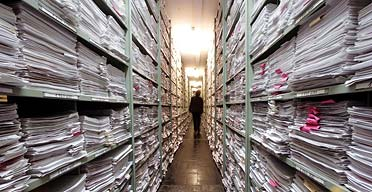 The correspondence archive at the Red Cross International Tracing Service in Bad Arolsen