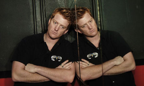 Josh Homme, lead singer of Queens of the Stone Age, at the Electric Ballroom in Camden