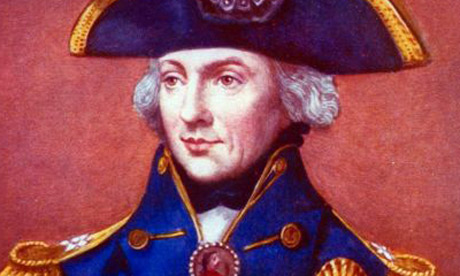 Lord Nelson, a popular subject for historians