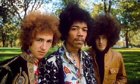 Mitch Mitchell in the Jimi Hendrix Experience