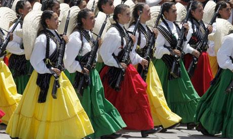 Mexico bicentennial celebrations, September 2010