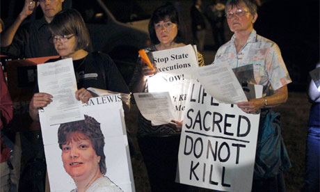 Teresa Lewis execution 2010 Virginia
