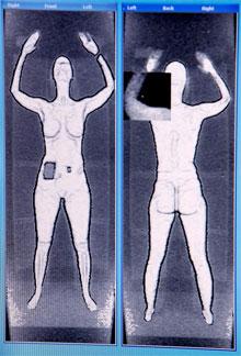 TSA body scanner images