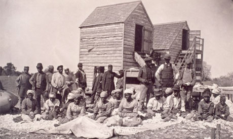 escaped slaves during American civil war