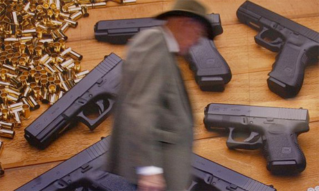 Glock handgun NRA, gun control US