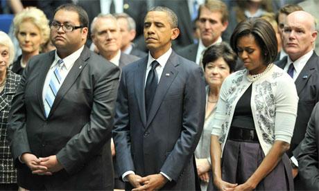 Obama Tucson memorial