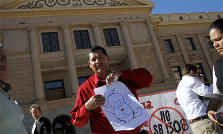 Mexican American protest in Arizona against SB 1308/1309
