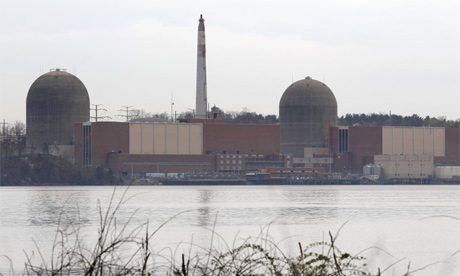 Indian Point nuclear reactor, New York