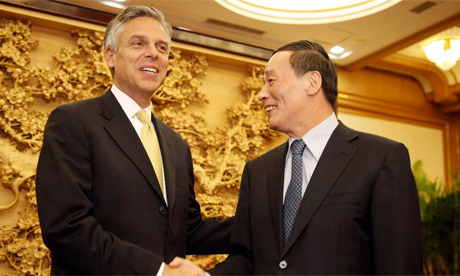 John Huntsman US ambassador to China