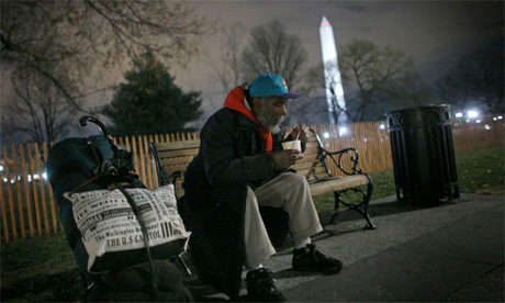 homeless in Washington DC