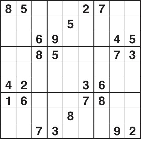 Sudoku 1,899 medium