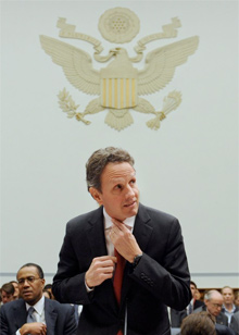 Tim Geithner, US Treasury secretary
