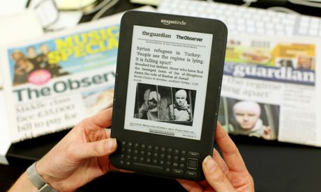 The Guardian and Observer Kindle edition is now available