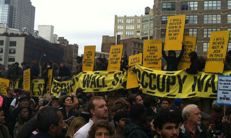Occupy Wall Street protesters regroup after eviction