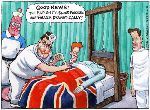 13.04.2011: Steve Bell on the NHS