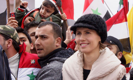 Syrian first lady Asma al-Assad was apparently not in the habit of deleting her emails