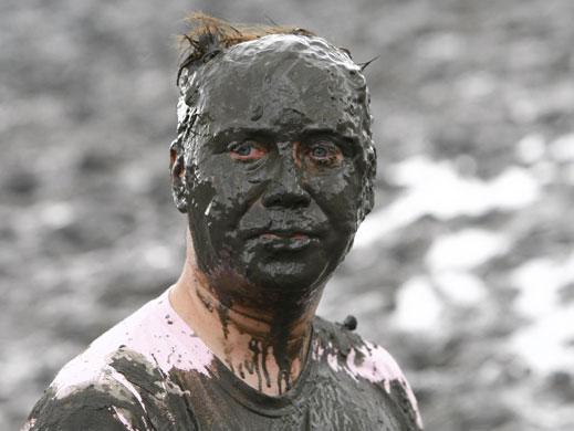 Face mud