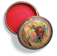 A Bourjois blusher pot from 1881