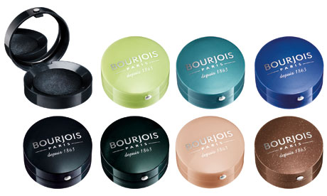 A selection of Bourjois eyeshadows