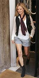 Super model Kate Moss